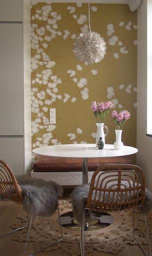 Casa primavera nuova vita alle pareti di casa con for Pareti con carta da parati